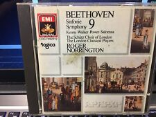 CD: BEETHOVEN Symphony #9 Kenny Walker Power Salomaa London Classical Players
