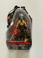 "RARE Predators Series 2 Tracker Predator 7"" Scale Action Figure Original NECA"