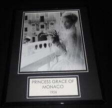 Princess Grace Kelly of Monaco Wedding Framed 11x14 Photo Display