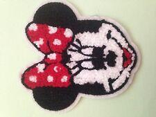 Minnie Mouse CARTONE ANIMATO Asciugamano Sew sul APPLIQUE Patch