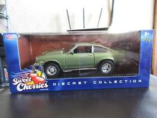 MotorMax 1:24 1974 Chevy Vega Metallic Green Street Racing Sweet Cherries