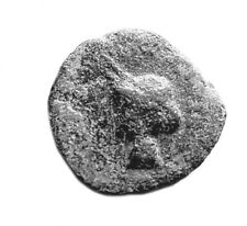 More details for 250bc greek bronze coin - very nice tiny coin  #508