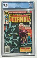 Eternals #1 CGC 9.0 - 30 Cent Variant 1st App Eternals 1976 Marvel MCU Movie WP