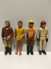Lot of 4 - 1974 Vintage Fisher Price Adventure People Action Figures