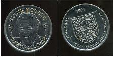 Sainsburys 1998 coupe du monde officiel Angleterre squad médaille / GLENN HODDLE