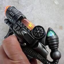 Steampunk cyber gothic gun revolver pistol Victorian laser LIGHT pirate Toy mini