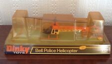 """DINKY TOYS MODEL No.732 BELL """"POLICE""""  HELICOPTER"""