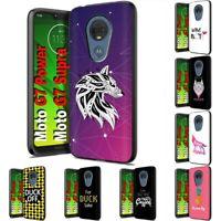 Thin Gel Design Phone Case Cover for Motorola moto g7 power,TX Graphic Print