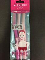 SHISEIDO PREPARE Face Razor Shaver 3pcs 3 Pieces MADE IN JAPAN