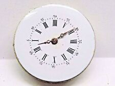 Antique No Name Pocket Watch Movement. 26 mm in size. Beautiful Porcelain Dial