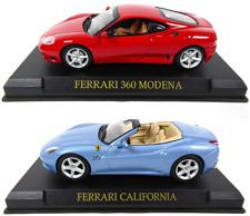 Lot de 2 Ferrari 360 Modena et California - 1/43 IXO Altaya Voiture miniature