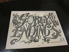 Gorey Endings - A Calendar for 1979. First Edition. By Edward Gorey