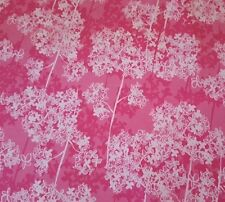 Pretty Little Thing BTY Louise Allen Wilmington White Floral Flower Pink