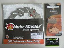 Suzuki DR650 DR650SE 2011 2012 2013 Moto-Master Rear Brake Disc Rotor & Pads