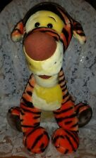 "Disney Store 18"" Tigger Tiger Stuffed Plush~Winnie Pooh~ Unusual Brown Foot Pads"