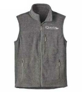 quantum pt performance tuned vest grayish zippered pockets fishing large