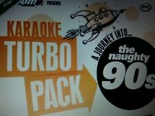 KARAOKE CDG    TURBO PACK  99 GOLDEN HITS from 90s    (SET  1  to  5 )