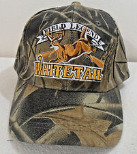 NWOT BALL CAP  WHITETAIL DEER HUNTING CAMOUFLAGE HAT FIELD LEGEND