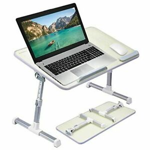 [Large Size] Neetto TB101L Adjustable Laptop Bed Table, Portable Standing Desk,