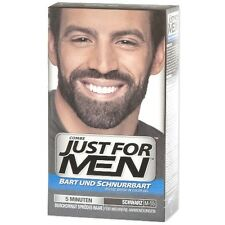 Just for Men Brush-In-Color-Gel für Bart&Schnurrbart Gel Pflege schwarz