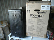 GEMINI GVX 10 P enceinte amplifiée