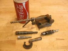 Vintage Machinist Caliper Mic LS Starrett Tools Brown Sharpe Slocomb Micrometer