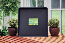 LARGE Square Garden Tray 6.6 Gallon Capacity Seed Starter Wheatgrass Microgreen