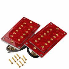 Humbucker Pickups Red Pearl shell Top w/Frame Guitar Pickups Set for LP SG