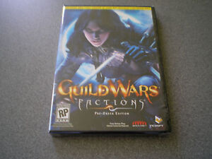 Guild Wars Factions Pre-Order Edition PC NIB RPG NEW NTSC-U/C (US/Canada),