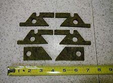 BRIDGEPORT MILL, J HEAD milling machine SADDLE & KNEE FELT WAY WIPER KIT M1601