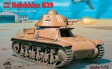 Hotchkiss H 39 w/ 37mm gun SA38 early  RPM 72219 1/72