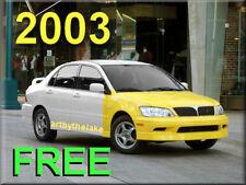 2003 MiTSUBISHI LANCER OZ ES LS Service CD FREE SHIP Maintenance Manual