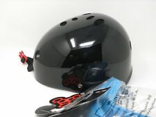 Triple Eight Sweatsaver Multi Sport Helmet Black & Carolina Blue Xs/S Skate Gear