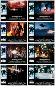 THE THING Lobby Cards (1982) Complete Set of 8 LIMITED OFFER!!