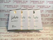 4 Christian Dior JADORE Eau De Parfum Perfume 1ml Vial Mini Sample Travel Size