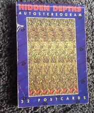 Hidden Depths . 32 Autostereogram Postcards. 32 Autostereogram Postcards.