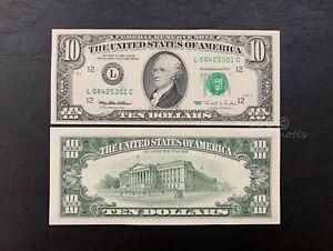US - 1995  Series 10 Dollar | UNC