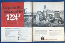 Original 1967 International 424 Ad Compare The 424P . No Other Gives All This