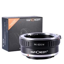 Pentax K PK Mount Lens to Canon EOS M EF-M Camera Adaper Ring PK-EOS.M