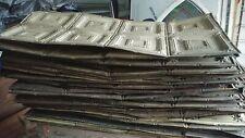 Antique Metal Ceiling Tiles Architectural Salvage Room Set 16.5 x 25 ft 60+ pcs