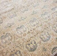 Hand Knotted beautiful Oushak Turkish wool rug, Size 12x15 100% pure soft wool
