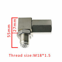 90° O2 Oxygen Sensor Pigtail Spacer Engine Light Catalytic Connector