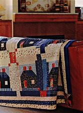 """Summer Cabins   Finished Size -75-1/2""""X75-1/2""""   Quilt   (pattern Only)"""