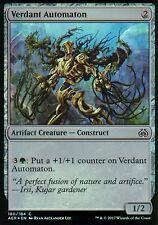 Verdant automaton foil | nm/m | Aether revolt | Magic mtg