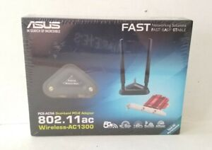 ASUS PCE-AC56 2x2 802.11ac WiFi AC1300 PCIe Adapter