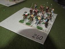 15mm roman era / numidian - 12 Light Cavalry - cav (260)