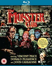 The Monster Club - Blu ray NEW & SEALED - Vincent Price
