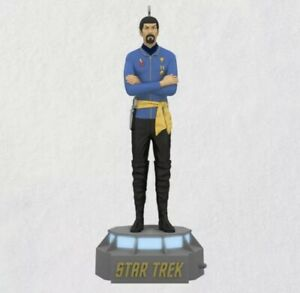 Spock Star Trek Mirror Mirror Episode 2021 Hallmark Ornament Storytelling New