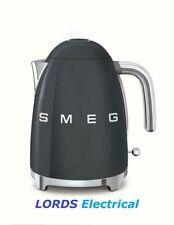 Smeg KLF03GRUK  50's Retro Style 3Kw Kettle + 2 Year Warranty  SLATE GREY