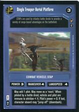 Star Wars CCG Theed Palace Single Trooper Aerial Platform